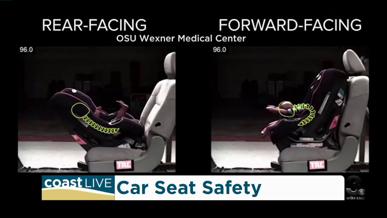 Car seat safety advice and new laws in Virginia on CoastLive