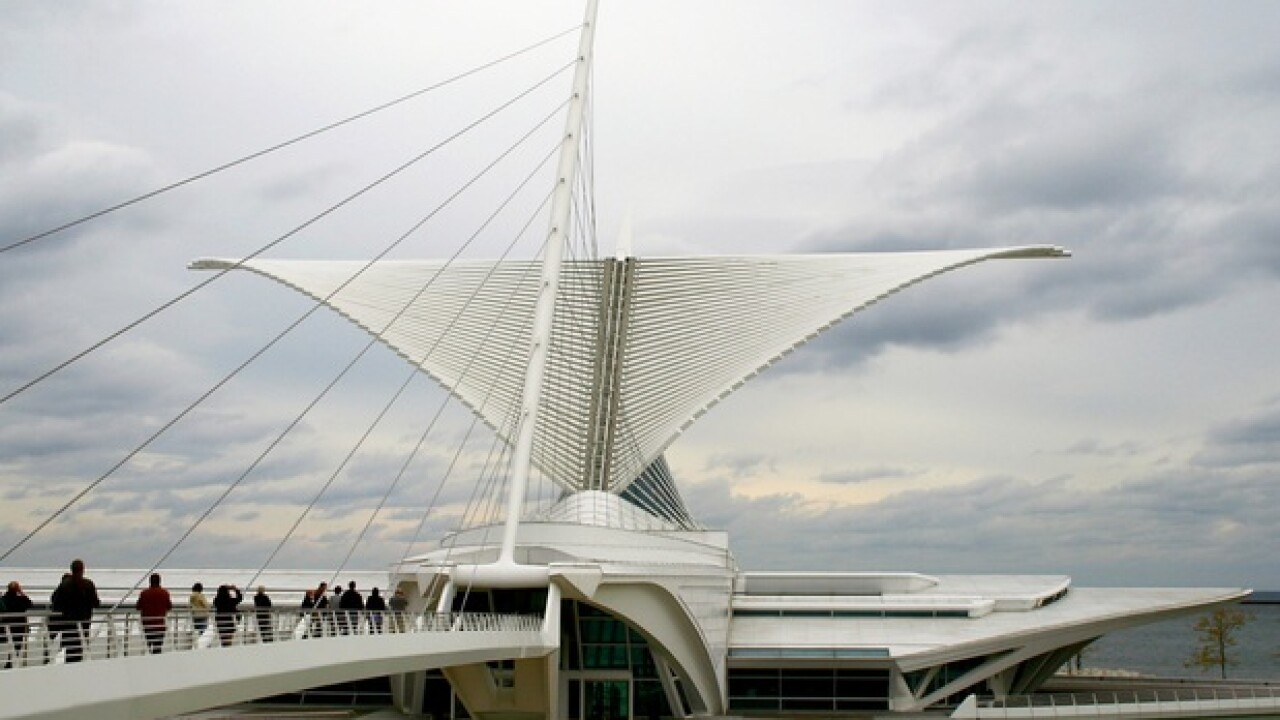 Milwaukee Art Museum admission is free Friday
