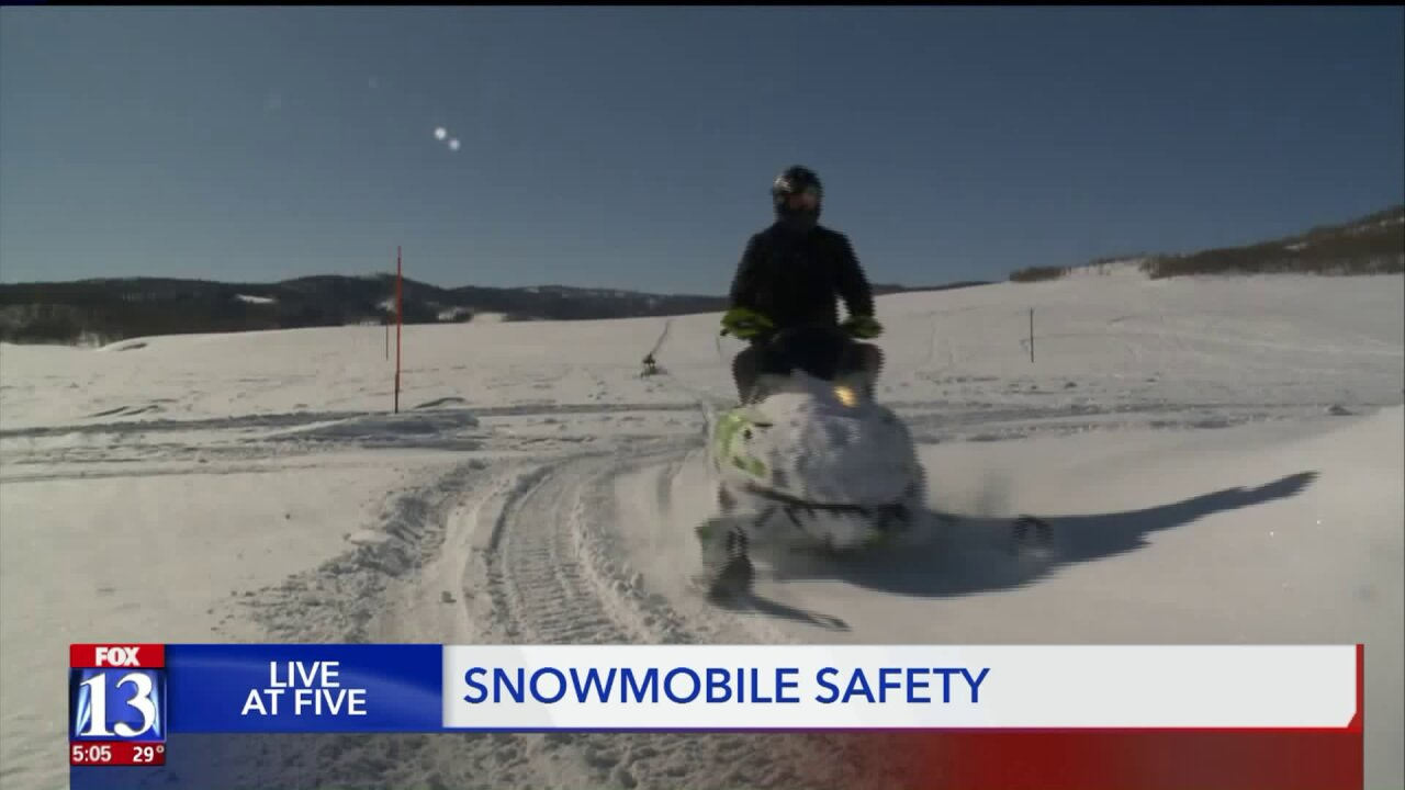 After multiple deaths of Utahns, experts weigh in on snowmobile safety