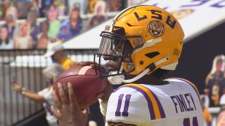 T.J, Finley LSU Football
