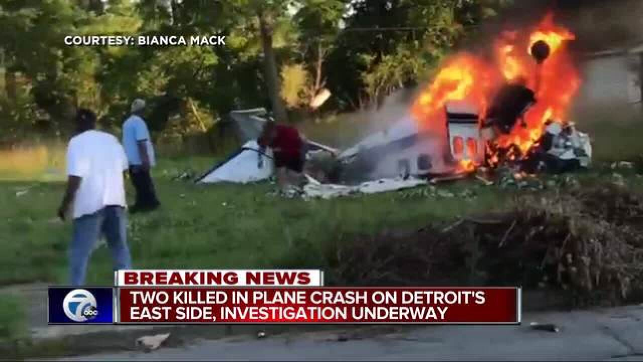 Pilot trapped following small plane crash