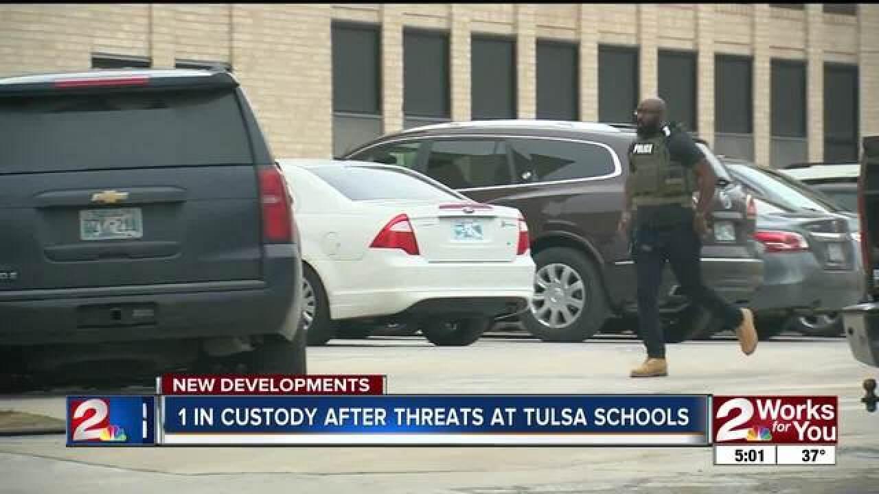 2 Tulsa high schools on lockdown, students safe