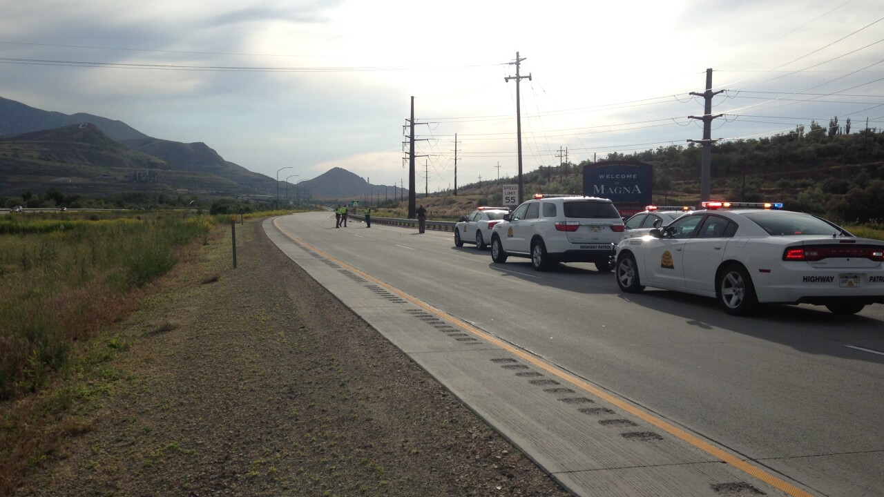 1 in critical condition after passenger fell or was pushed from truck onSR-201