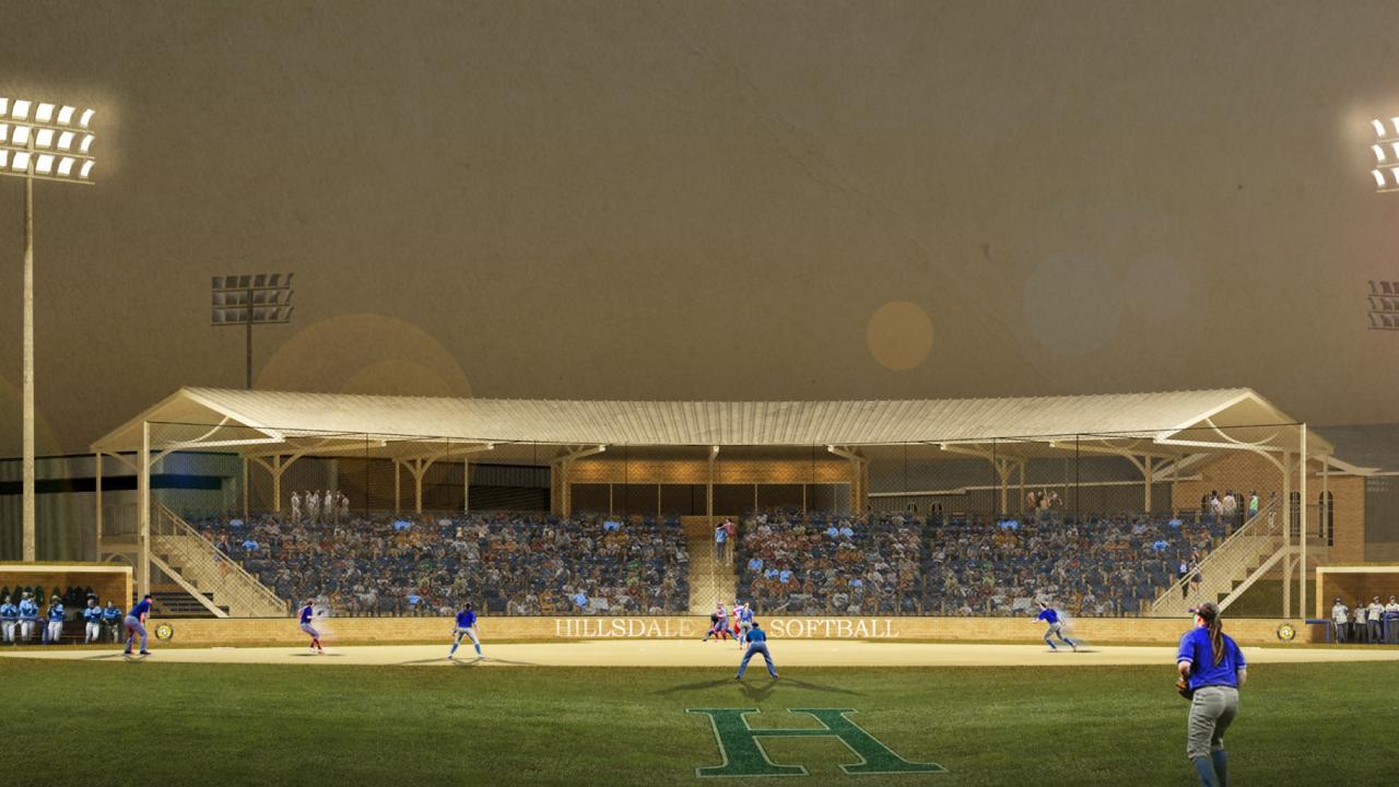 Hillsdale College New Softball Field