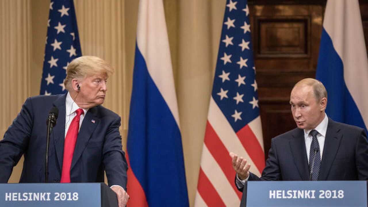 Trump surprised at fierce criticism of Putin news conference