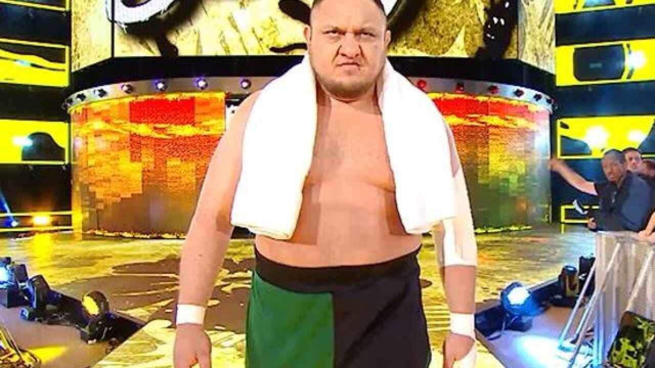 WWE Superstar Samoa Joe ready for WWE in Omaha