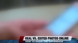 The importance of knowing the difference between real and altered photos online