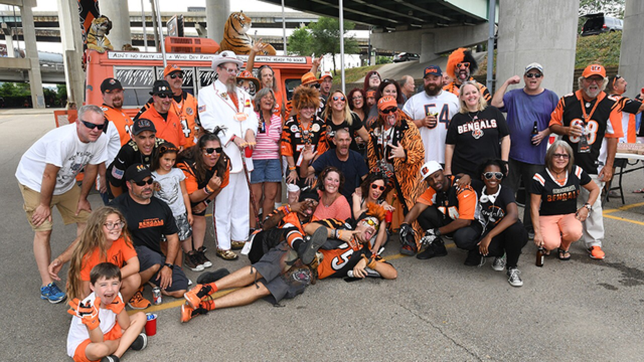 Cincinnati Bengals have no plans to change tailgating policy, despite NFL recommendation