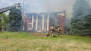 Thomson House in Independence fire