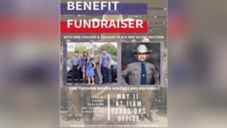 Benefit barbecue set May 11 to benefit injured DPS trooper Moises Sanchez