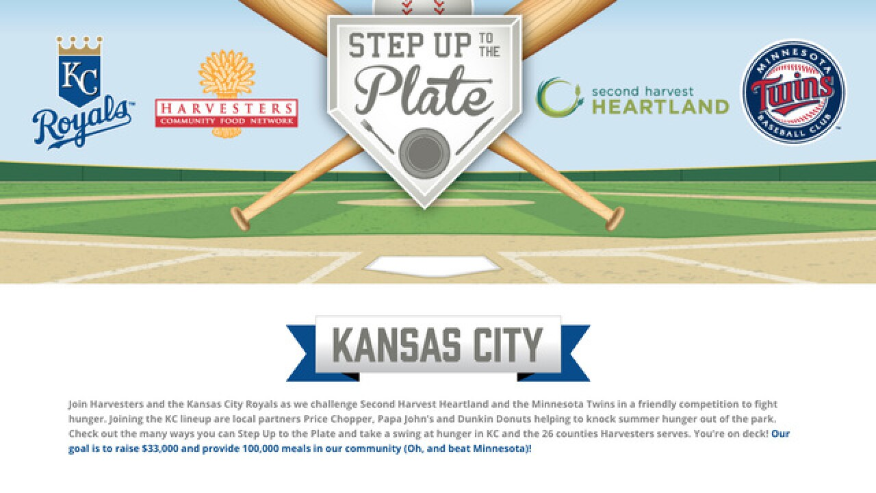 Harvesters, Royals take on Minneapolis, Twins in friendly competition to fight hunger
