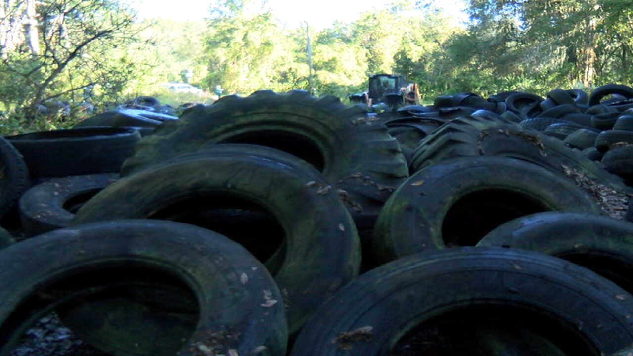 Free tire disposal event in Pasco