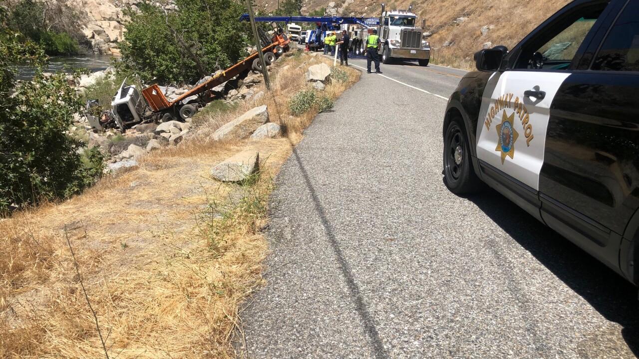 Highway 178 Big Rig Crash