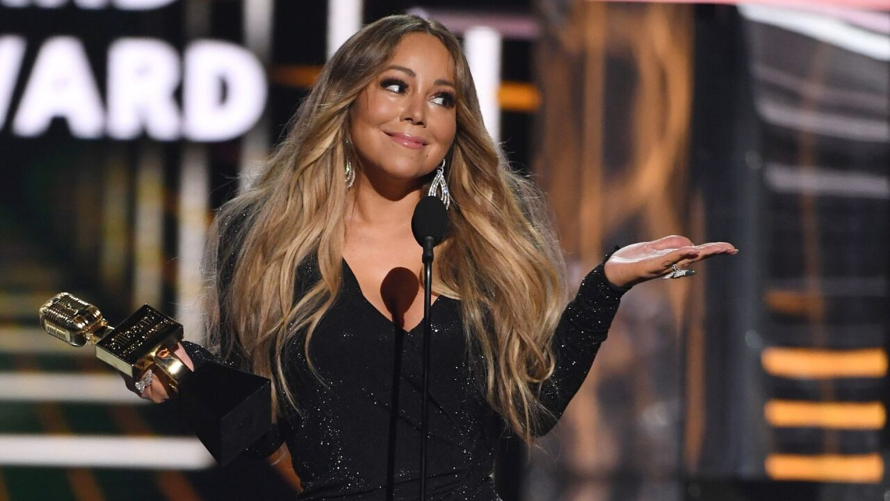 Mariah Carey's 'All I Want For Christmas Is You' hits No. 1 on Billboard after 25 years