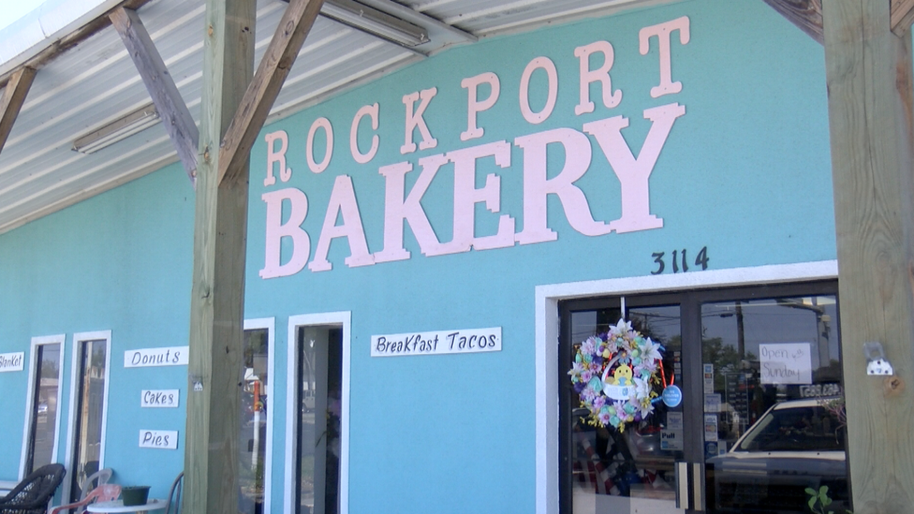 Rockport Bakery open for business