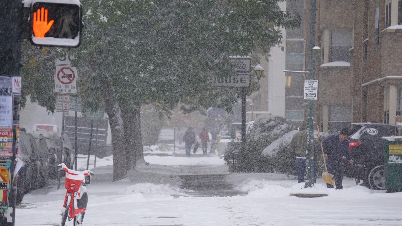 Here's how much snow has fallen across Colorado ( so far)
