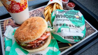 Vegan man suing Burger King claims Impossible Whopper was 'contaminated' by meat