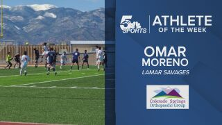 KOAA Athlete of the Week: Lamar's Omar Moreno