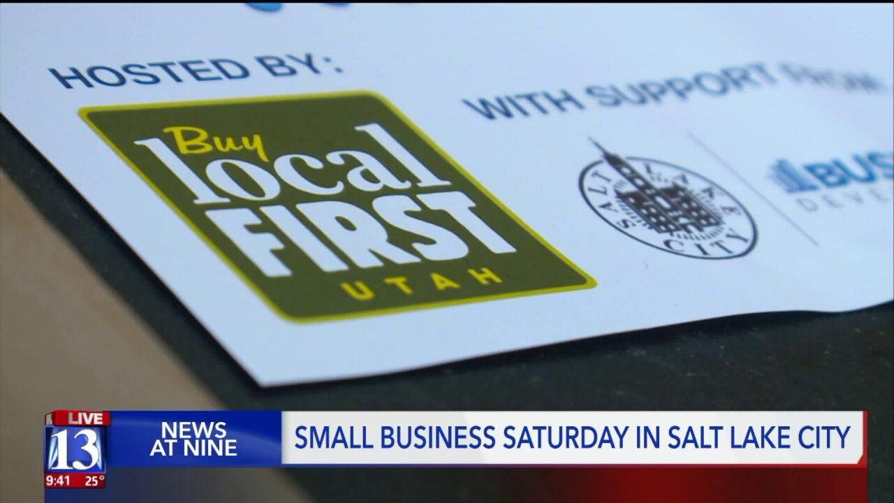 'Small Business Saturday' highlights local shops as holiday shopping picks up
