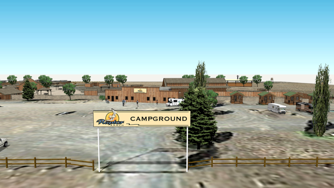 Raptor Ranch rendering