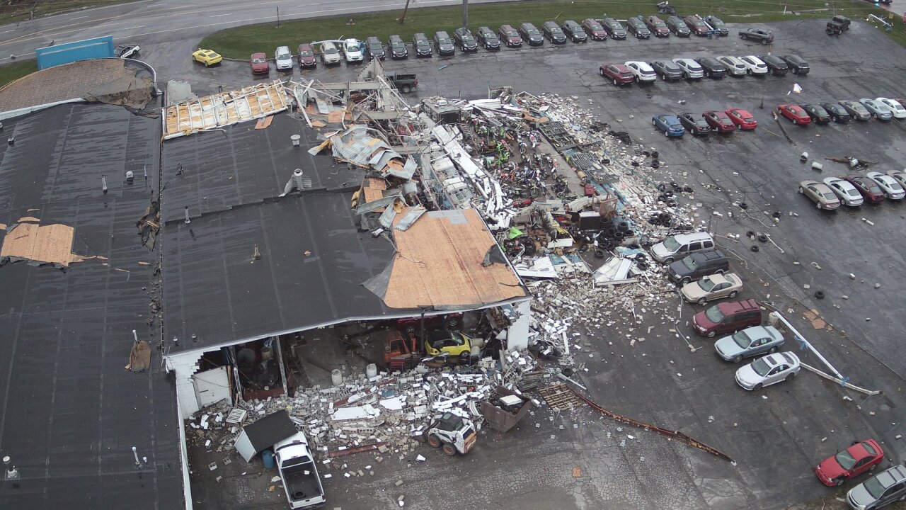 Incredible Aerial Photos Show Widespread Destruction After