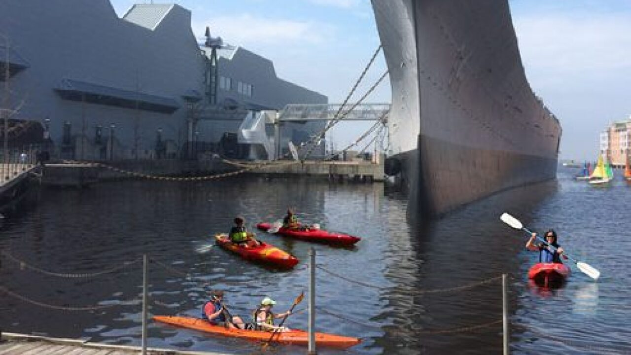 New kayaking tours hit the waters of downtown Norfolk