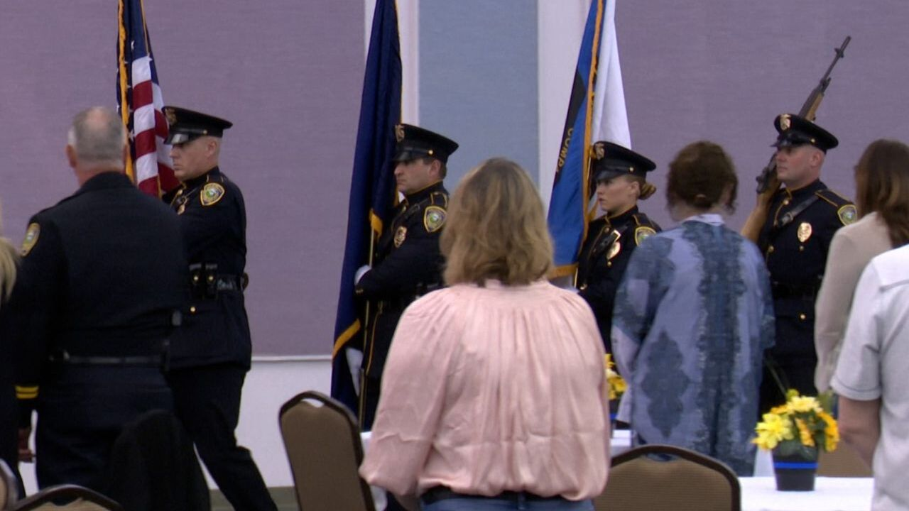 Great Falls Police Department annual awards ceremony (May 14, 2021)