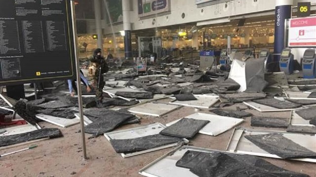 Live updates: Explosions rock Brussels airport