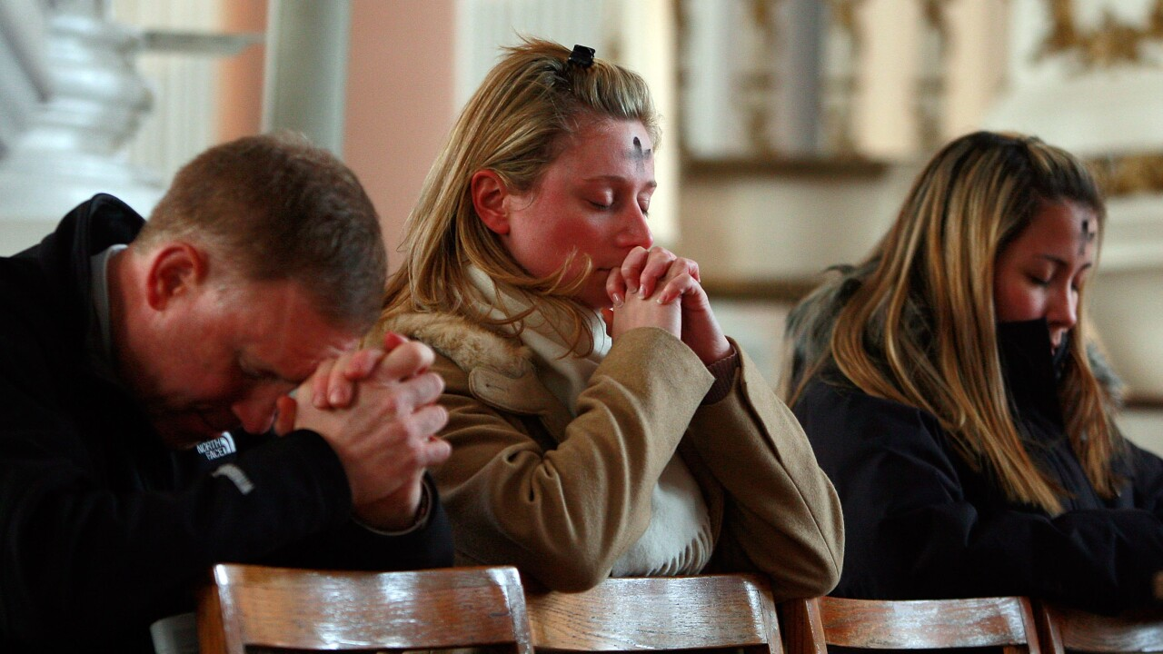 U.S. Catholics Begin Lenten Season With Ash Wednesday Observance