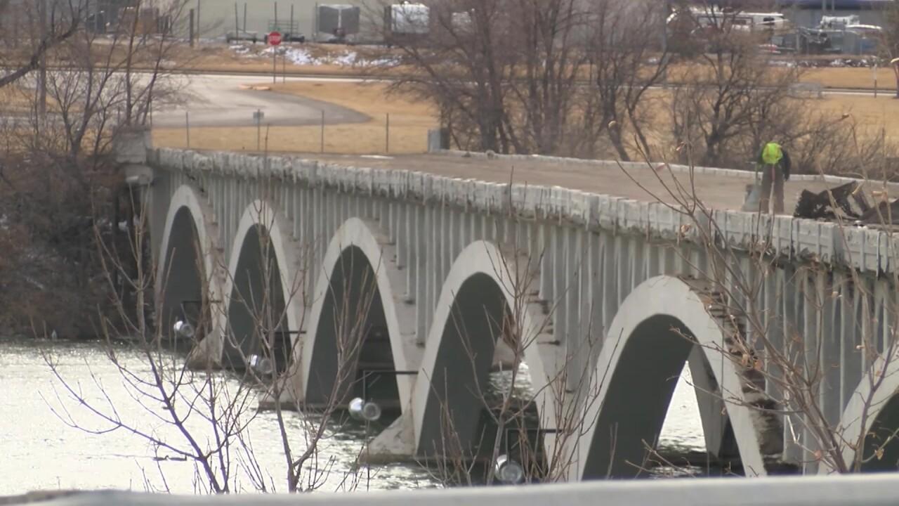 10th Street Bridge February 2020