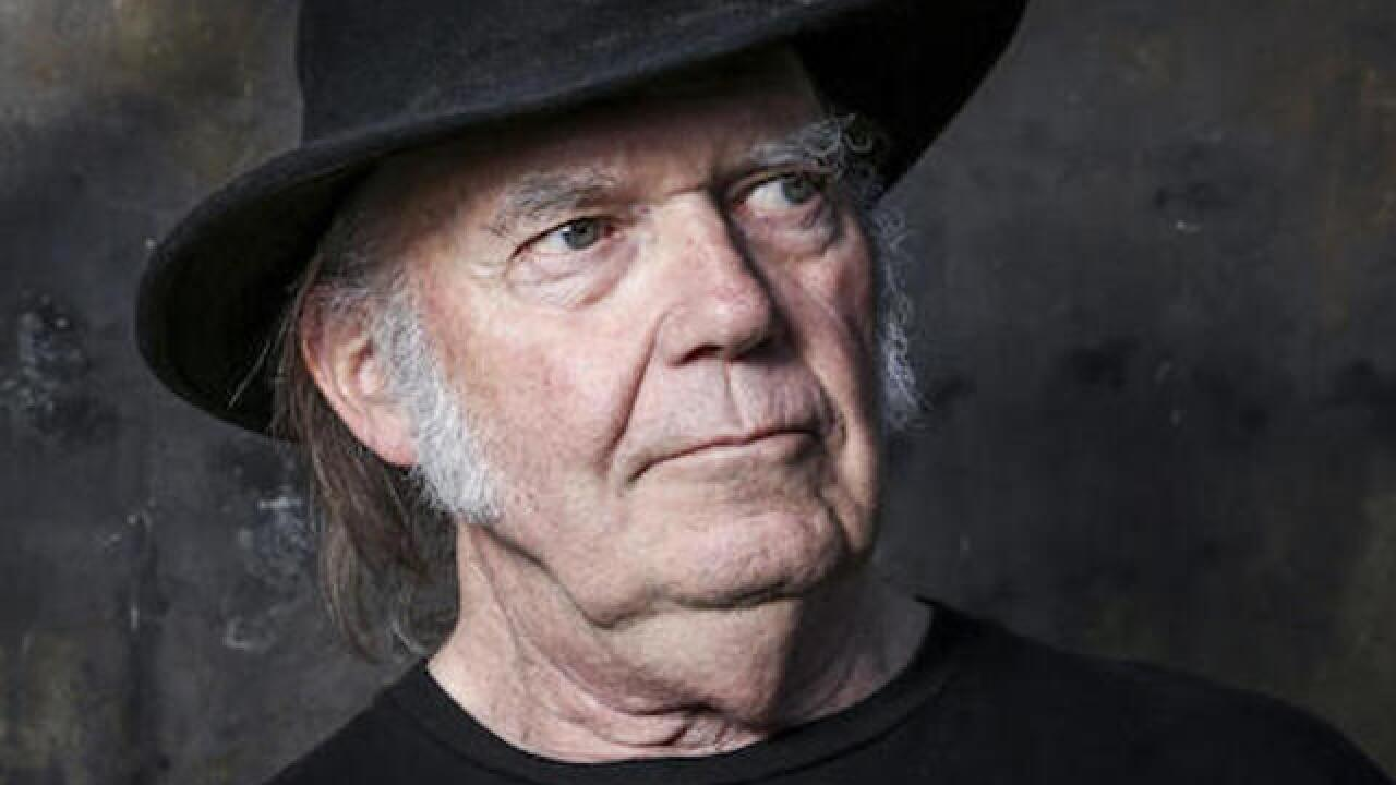 Neil Young weighs in on Dakota Access pipeline protest