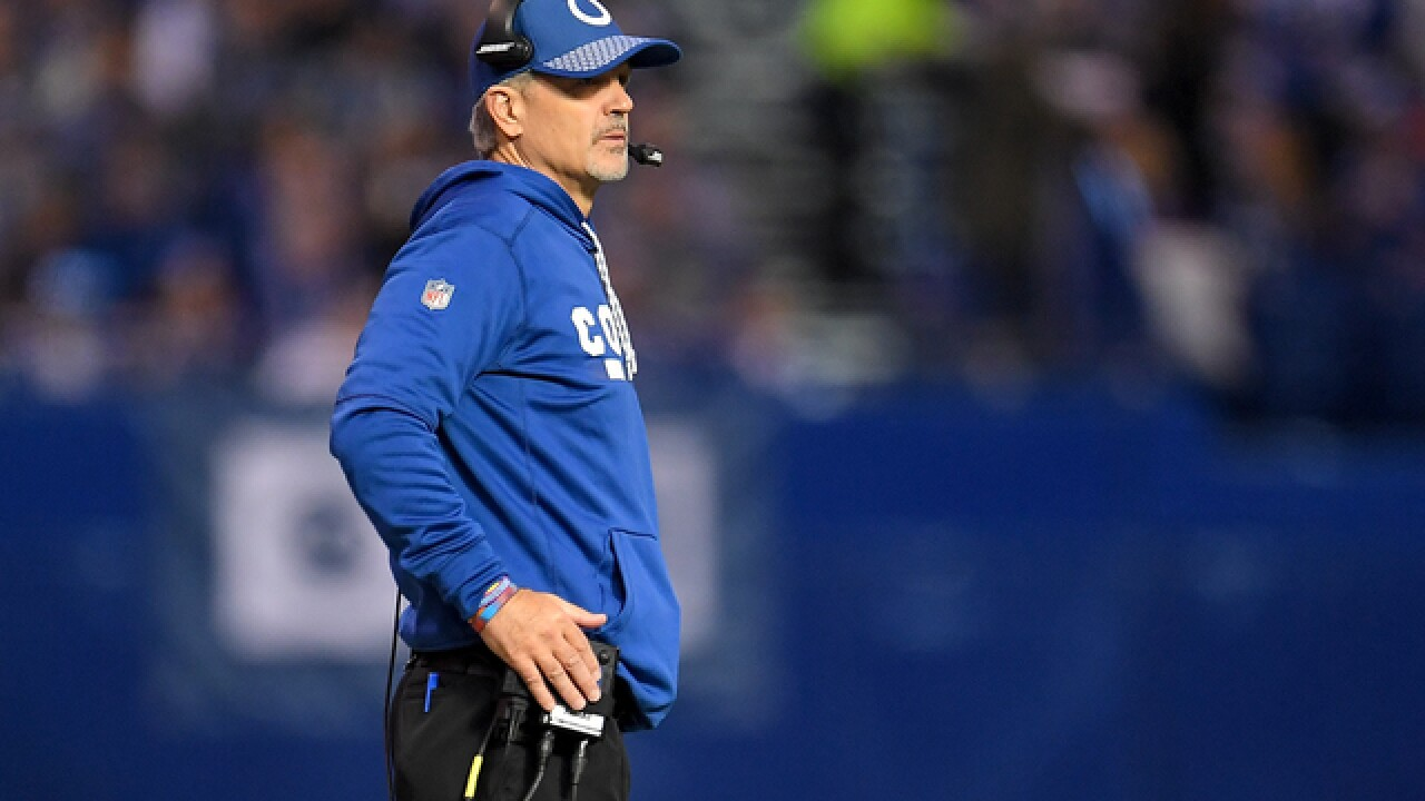 Colts fire head coach Chuck Pagano