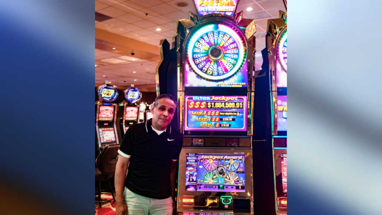 Man wins more than $1.6 million from penny slot at California casino