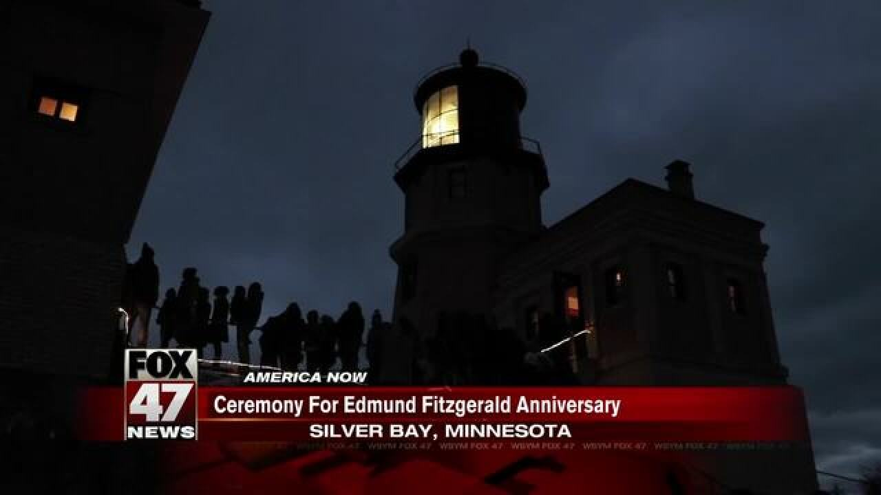 Anniv. of the Sinking of the Edmund Fitzgerald