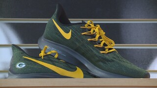New Packers-themed shoes from Nike