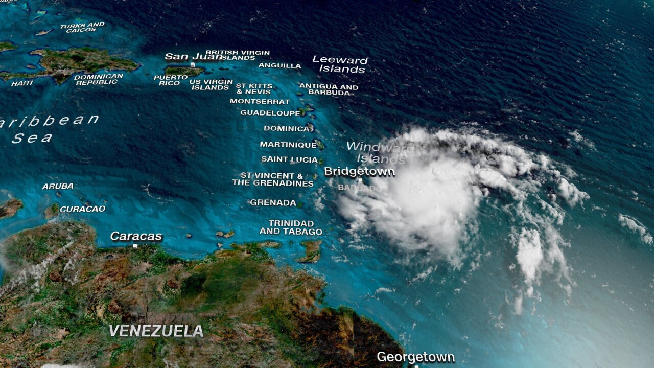 Dorian is approaching Puerto Rico and it could bring life-threatening flashfloods