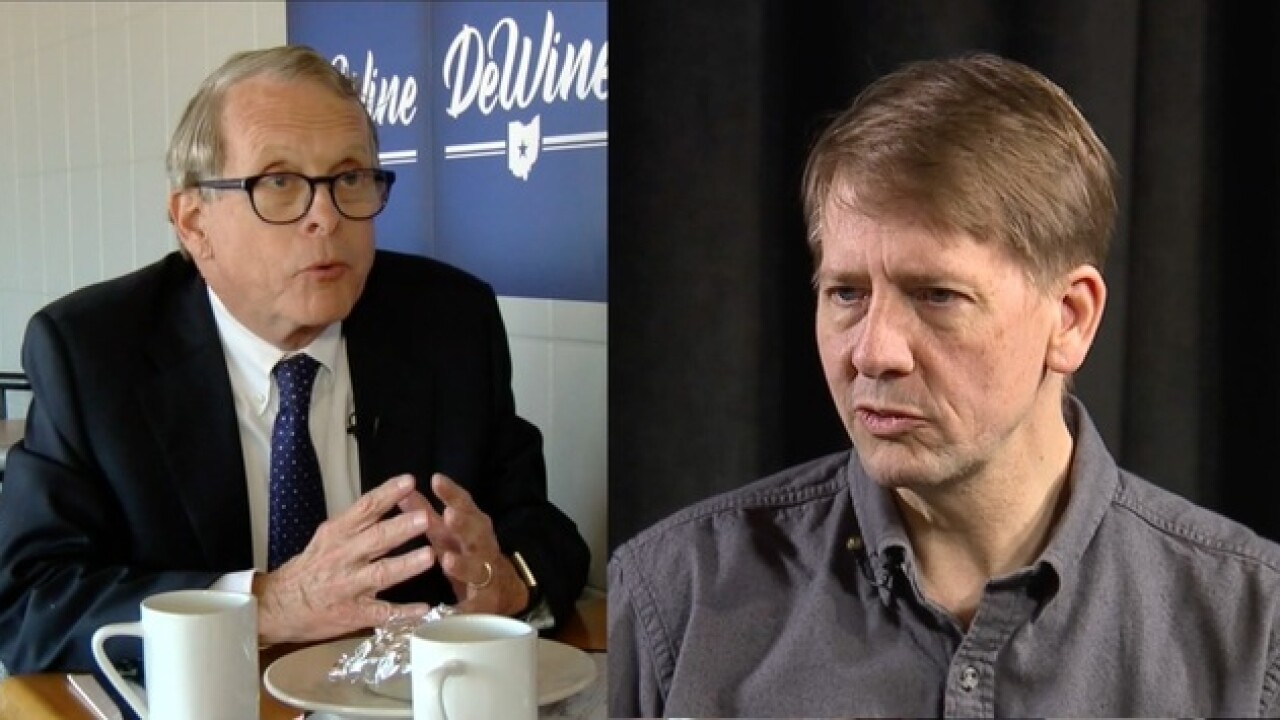 WATCH: Cordray, DeWine face off in second gubernatorial debate in Marietta