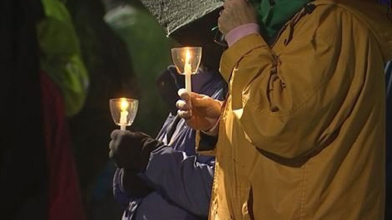 Vigil for Parkland victims held in Newtown