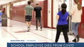 Richmond school employee dies from COVID-19