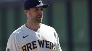 'It was a turning point': Brewers' Josh Lindblom discusses challenges of fatherhood