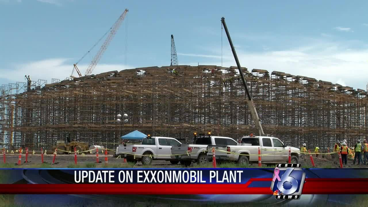 ExxonMobil plant near Portland