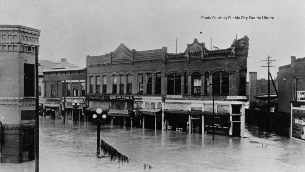 Pueblo Flood 1921