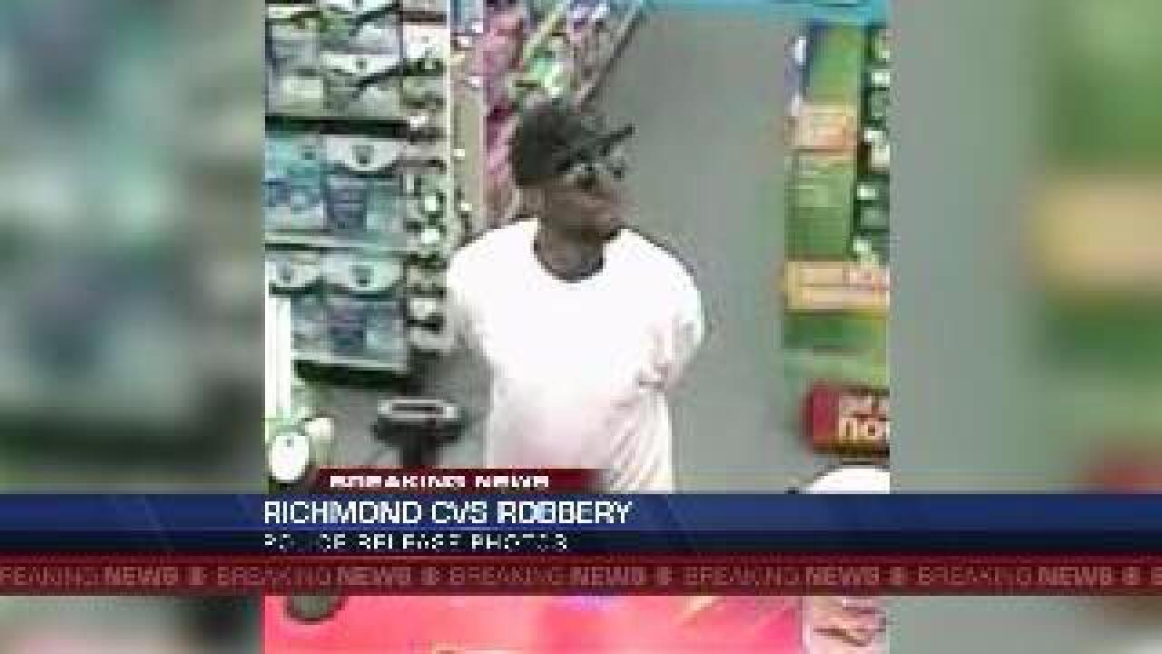 Police seeking Forest Hill CVS robbery suspect
