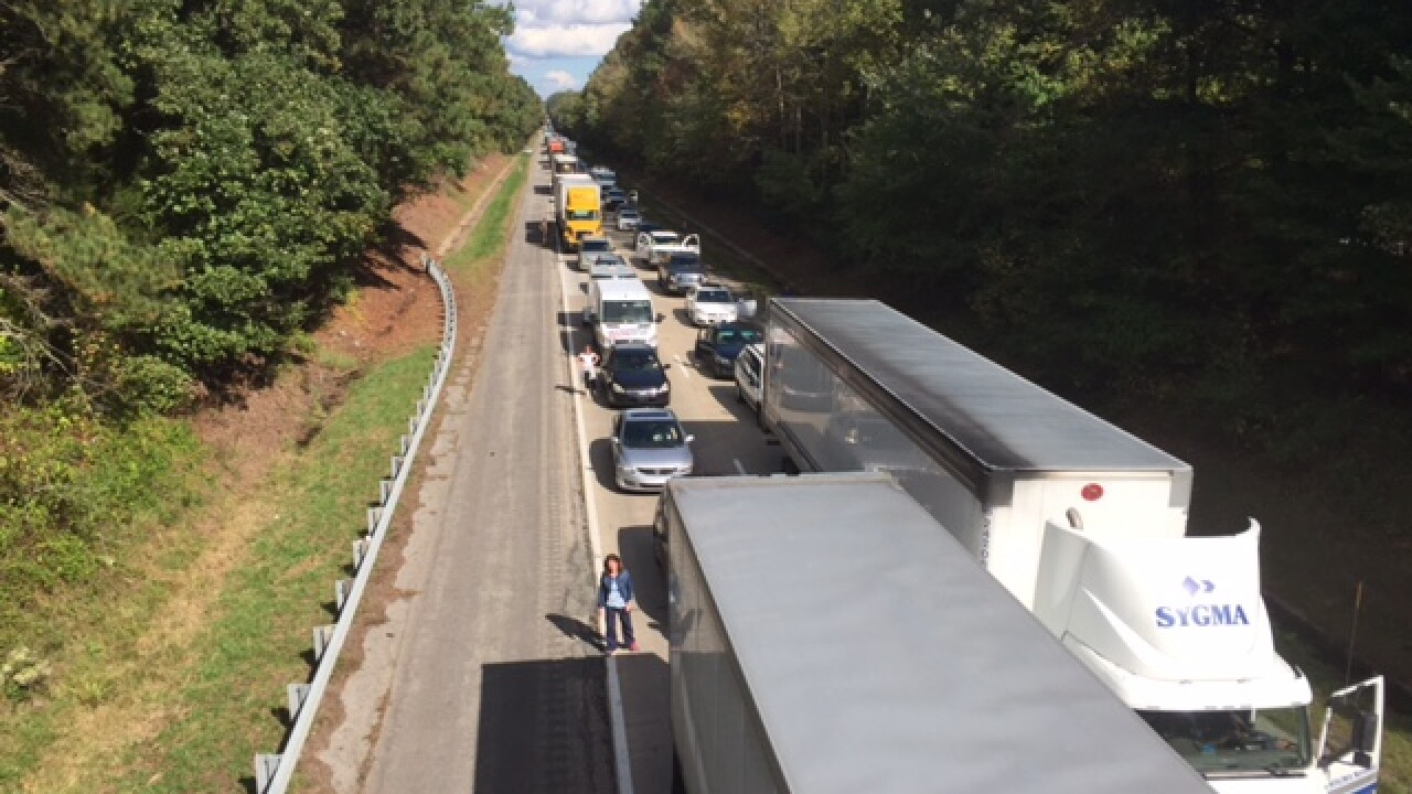 I-85 reopens after deadly minivan wreck backs up traffic nearly 10miles