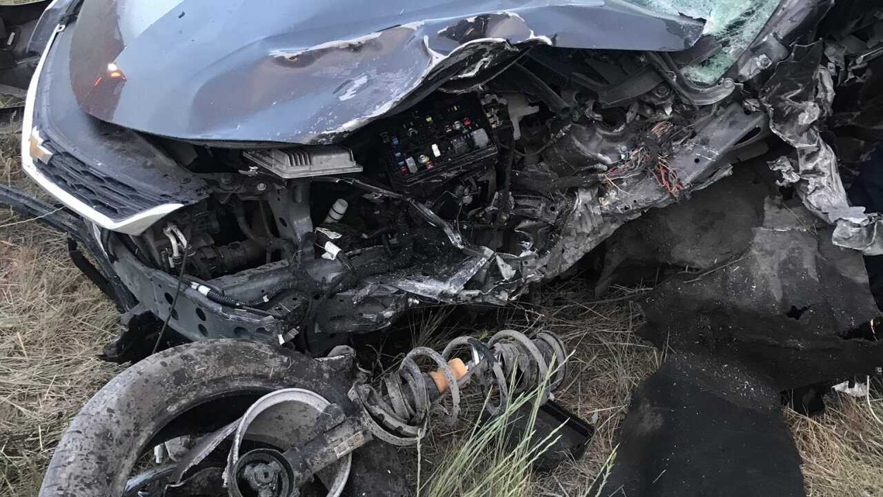 Head-on crash on SR-73 Eagle Mountain