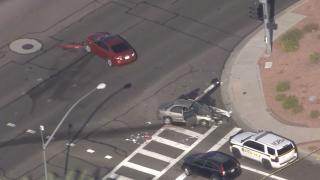57th Drive and Grand Avenue Crash