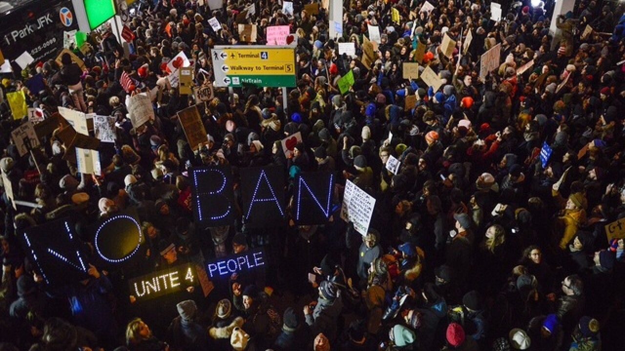 Gallery: Nationwide airport protests over Trump's immigation order