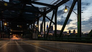 Skyline of Cleveland.