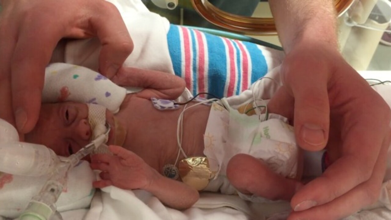 This couple is helping parents of preemie babies
