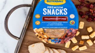 New Butterball Snack Packs Are Like A Thanksgiving Dinner To-go